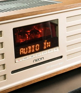 neon MTB830D Modern Retro Compact Music System
