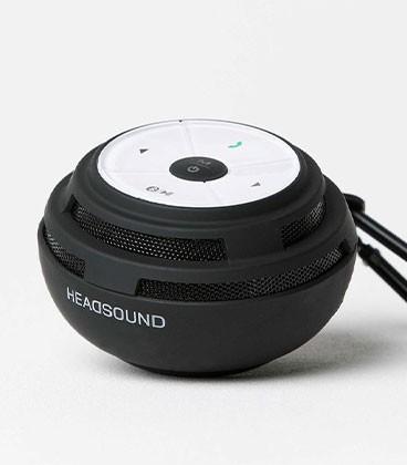 headsound Ball bluetooth Speaker Black