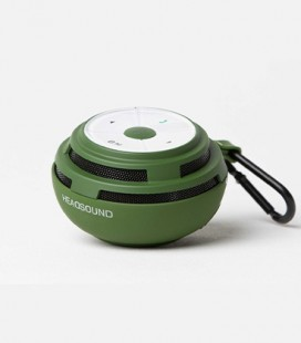 headsound Ball bluetooth Speaker Green