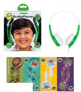 BuddyPhones Connect Green