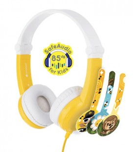 BuddyPhones Connect Yellow