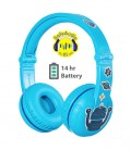 BuddyPhones Play Blue Glacier