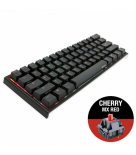 MECHANICAL KEYBOARD DUCKY ONE 2 MINI V2 RGB, CHERRY MX RED