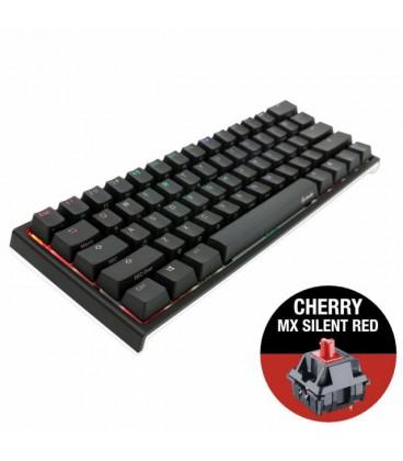 DUCKY ONE 2 MINI V2 RGB CHERRY MX SILENT RED