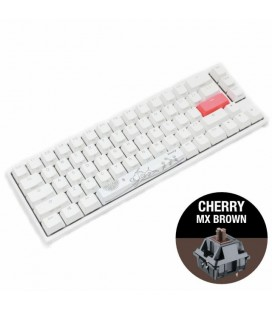 DUCKY ONE 2 SF WHITE RGB CHERRY MX BROWN