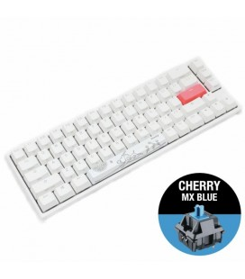 DUCKY ONE 2 SF WHITE RGB, CHERRY MX BLUE