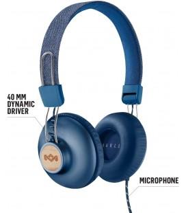 Marley Positive Vibration 2.0 Headphones - Denim