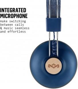 Marley Positive Vibration 2.0 Wireless Headphones - Denim