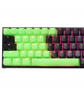 MECHANICAL KEYBOARD CAPS DUCKY GREEN 31-KEYCAP SET RUBBER BACKLIT DOUBLE-SHOT US LAYOUT
