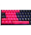 MECHANICAL KEYBOARD CAPS DUCKY RED 31-KEYCAP SET RUBBER BACKLIT DOUBLE-SHOT US LAYOUT