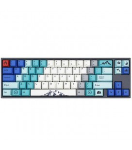 DUCKY X VARMILO MIYA PRO SUMMIT WHITE LED, CHERRY MX BLUE