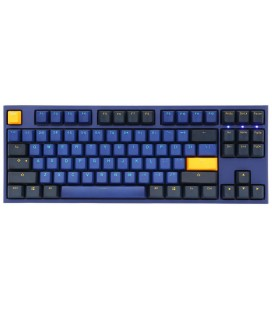 Ducky ONE 2 TKL Horizon PBT Gaming Keyboard, MX Blue