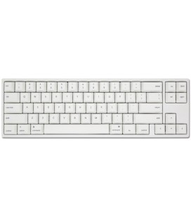 Ducky MIYA Pro Mac White LED 65% PBT Mechanical Keyboard MX-Clear