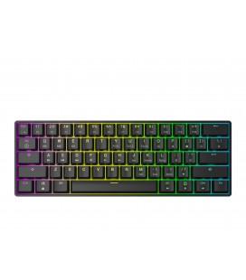 HK Gaming - GK61 | US Layout - ( Black , Gateron Black )
