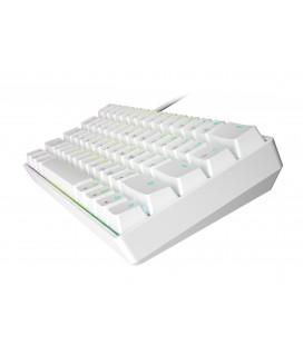 HK Gaming - GK61 | US Layout - ( White , Gateron Yellow )
