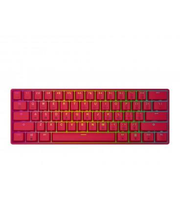 HK Gaming - GK61 | US Layout - ( Red , Gateron Black )