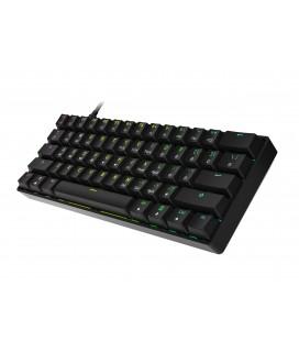 HK Gaming - GK61 | US Layout - ( Black , Gateron Optical Red)
