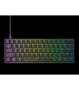 HK Gaming - GK61   US Layout - ( Black , Gateron Optical Red)